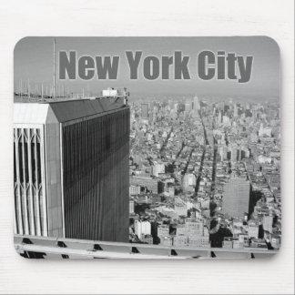 World Trade Center NYC de las torres gemelas Alfombrillas De Raton