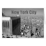World Trade Center NYC de las torres gemelas Tarjeta De Felicitación