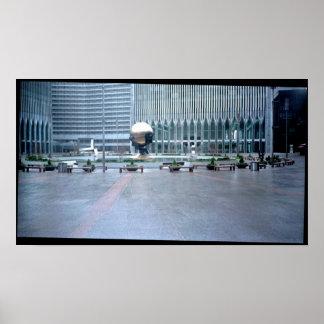 World Trade Center park Poster