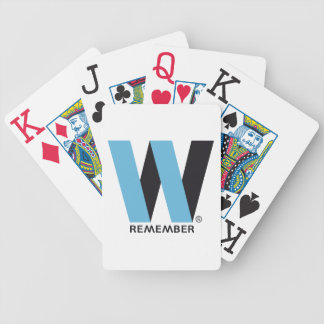 WORLD TRADE CENTER PAYS BICYCLE PLAYING CARDS