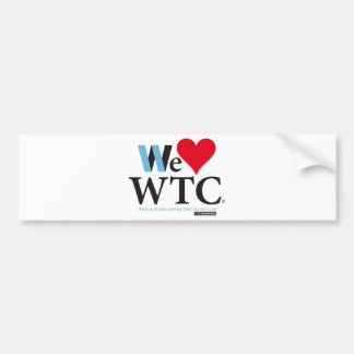 World Trade Center Pays Bumper Sticker