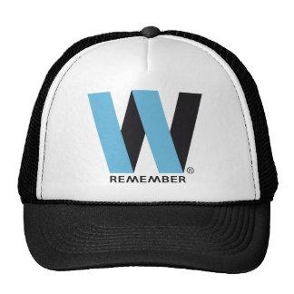 WORLD TRADE CENTER REMEMBER TRUCKER HATS
