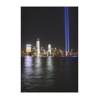 World Trade Center Remembrance Canvas Print