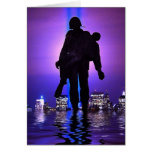 World Trade Center Tribute in Light Greeting Card