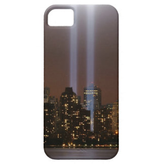 World trade center tribute in light in New York. iPhone 5 Cases
