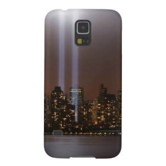 World trade center tribute in light in New York. Case For Galaxy S5