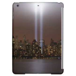 World trade center tribute in light in New York. iPad Air Cases