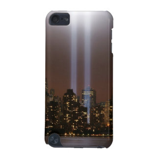 World trade center tribute in light in New York. iPod Touch (5th Generation) Cover
