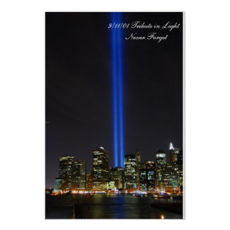 World Trade Center Tribute in Light - Poster