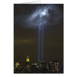 World Trade Center Tribute Light Card