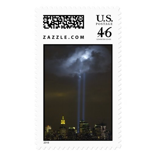 World Trade Center Tribute Light Postage Stamp
