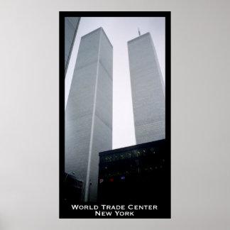 World Trade Center, Twin Towers, New York Print