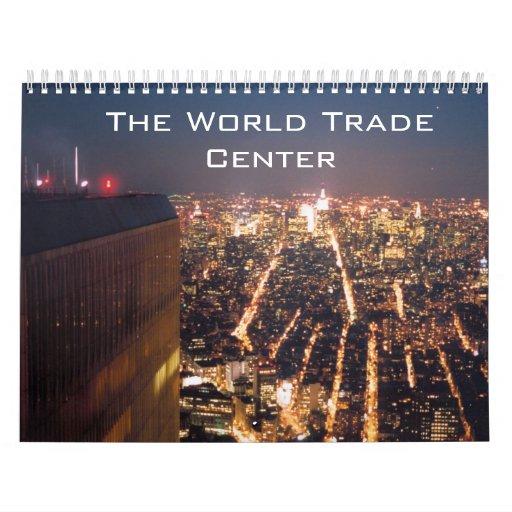 World trade center type wall calendars