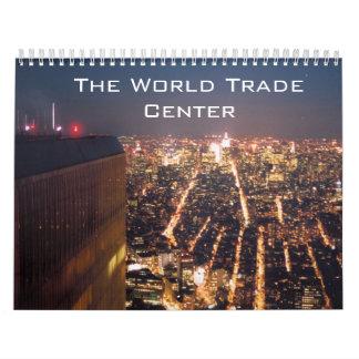 World trade center type calendar