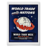 World Trade Unites Nations Poster