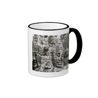 World Travel Cambodia:  Angkor Thom Faces Ringer Mug