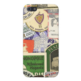 world travel labels iPhone 5/5S cases