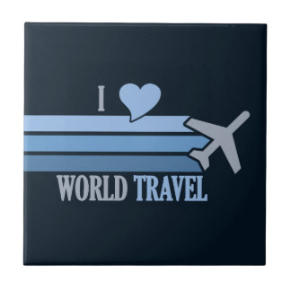 World Travel tile, customizable Ceramic Tile