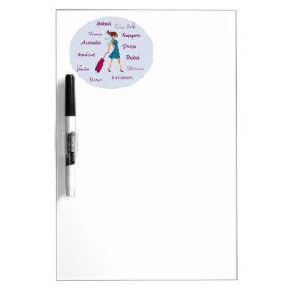 World Traveler Dry Erase Board