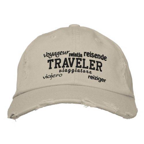World Traveler - Embroidered Hat