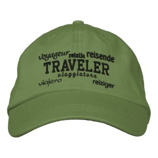 World Traveler - Embroidered Hat