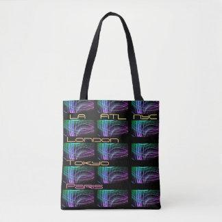 World Traveler Fashionista Tote Bag