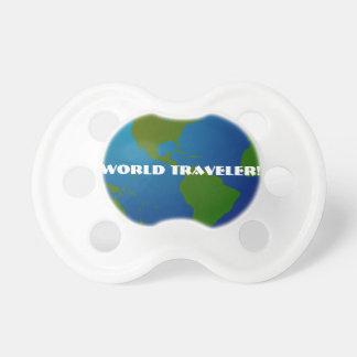 World Traveler Globe Pacifier