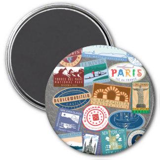World Traveler-Magnet