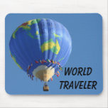 World Traveler Mouse Pad