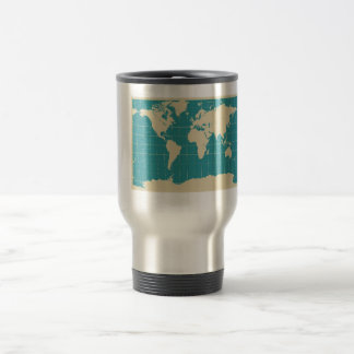 World Traveler 15 Oz Stainless Steel Travel Mug