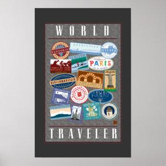 World Traveler-Poster Poster