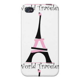 World Traveler Repeat Case For iPhone 4