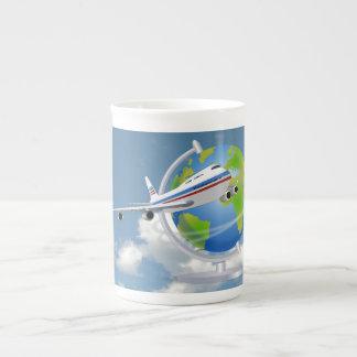World Traveler Tea Cup