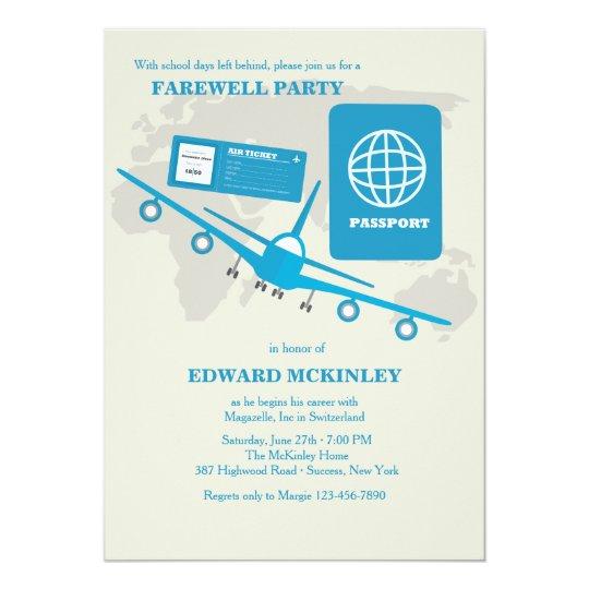 Invitation Card Of Farewell Party | Ilcastello