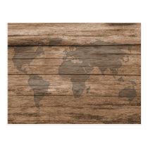 World Travels Postcard