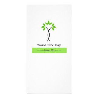 World tree day june 28 card