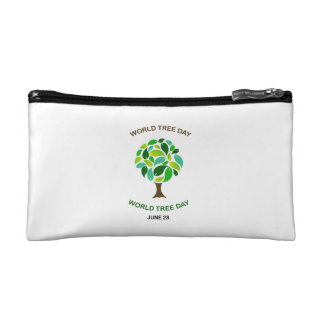 World tree day june 28 cosmetic bag