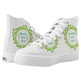 World tree day june 28 High-Top sneakers