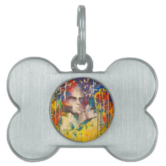 World two pet tag