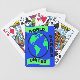 World United Gamers  Bicycle Playing Cards