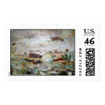 World View Postage Stamp
