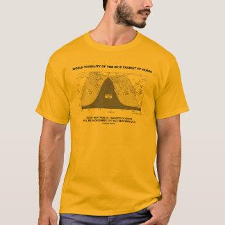 World Visibility Of The 2012 Transit Of Venus T-Shirt