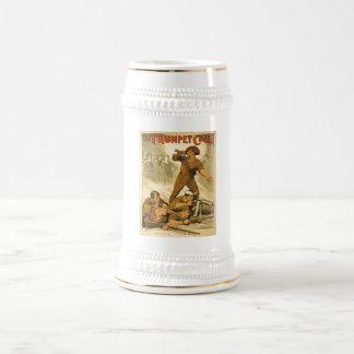 World War 1 Austrailian Army Poster Beer Stein