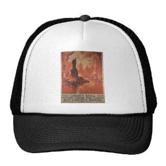 World War 1 Liberty Bonds Advertisement 1918 Hats