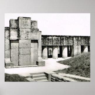 World War 1, Verdun Bayonet Monument Poster