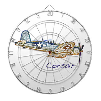 World War 2 Aircraft Convair Dart Board