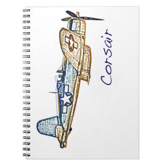 World War 2 Aircraft Convair Spiral Notebook