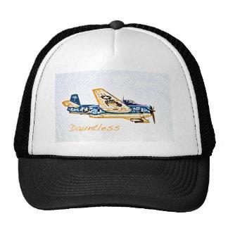 World War 2 Aircraft Douglas Dauntless Trucker Hat