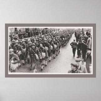 World War 2 American soldiers in Northern Ireland Print