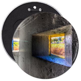 World War 2 Bunker Pinback Button